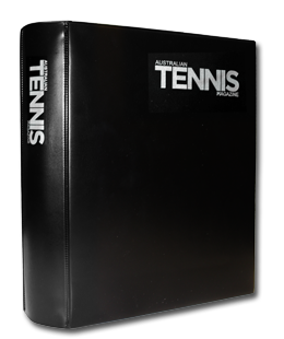 The Australian Tennis Magazine official binder