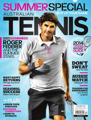 "Magazine cover of December 2013 issue ""Summer Special"""