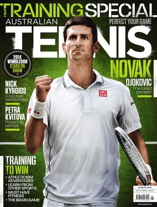 "Magazine cover of August 2014 issue ""Training Special"""