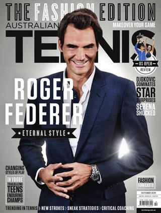 """Magazine cover of October 2015 issue """"The Fashion Edition"""""""