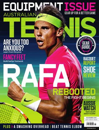 """Magazine cover of November 2015 issue """"Equipment Issue"""""""