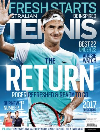 "Magazine cover of December 2016/January 2017 issue ""Fresh Starts Issue"""