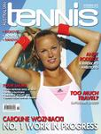 Magazine cover of November 2010 issue &ldquo;Caroline Wozniacki: No.1 work in progress&rdquo;