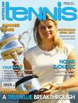 "Magazine cover of February 2011 issue ""Kim Clijsters - A true blue breakthrough"""