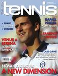 Magazine cover of March 2011 issue &ldquo;Novak Djokovic - A new dimension&rdquo;