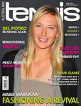 "Magazine cover of April 2011 issue ""Maria Sharapova: Fashioning a revival"""