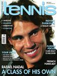 "Magazine cover of May 2011 issue ""Rafael Nadal: A class of his own"""