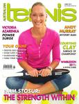 "Magazine cover of June 2011 issue ""Sam Stosur: The strength within"""