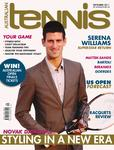 "Magazine cover of September 2011 issue ""Novak Djokovic: Styling In A New Era"""