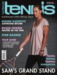 "Magazine cover of January 2012 issue ""Sam's Grand Slam (Australian Open Special Issue)"""