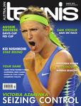 "Magazine cover of March 2012 issue ""Victoria Azarenka: Seizing Control"""
