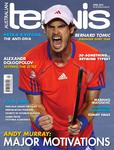 "Magazine cover of April 2012 issue ""Andy Murray: Major Motivations"""