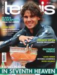 Magazine cover of July 2012 issue &ldquo;Rafael Nadal: In Seventh Heaven&rdquo;