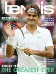 "Magazine cover of August 2012 issue ""Roger Federer: The Greatest Ever"""