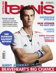 Magazine cover of September 2012 issue &ldquo;Andy Murray: Braveheart's Big Chance&rdquo;
