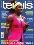 "Magazine cover of October 2012 issue ""Serena Williams: Superstar Staying Power"""