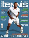 Magazine cover of November 2012 issue &ldquo;Jo- Wilfried Tsonga: a top tier takeover&rdquo;