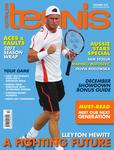 "Magazine cover of December 2012 issue ""Lleyton Hewitt: A fighting future"""
