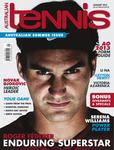 "Magazine cover of January 2013 issue ""Roger Federer: Enduring Superstar."""