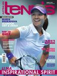 "Magazine cover of March 2013 issue ""Li Na: Inspirational Spirit"""