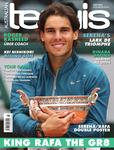"Magazine cover of July 2013 issue ""King Rafa the Gr8"""